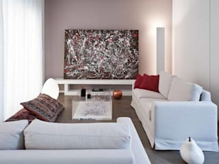 Living room by architetto Lorella Casola, Minimalist