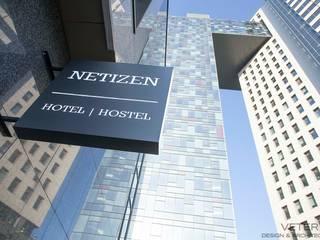Hotel in stile scandinavo di VETER DESIGN & ARCHITECTURE Scandinavo