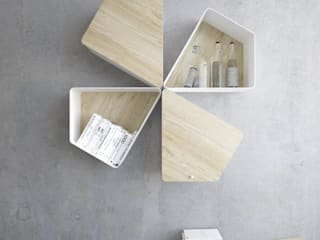 "Shelf ""TRAP"" de KAMBIAM (NeuroDesign Furniture for People) Moderno"