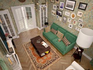 Salas de estilo ecléctico de BMM Ecléctico