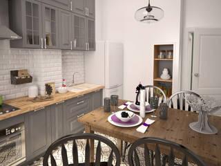 Жилое пространство : Кухни в . Автор – BMM