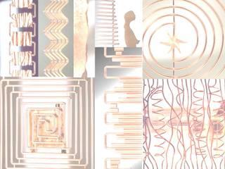 mix di laura sonzogni Moderno Rame / Bronzo / Ottone