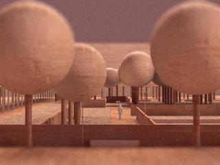 Il Parco Urbano - Vista:  in stile  di Mirco Simonato - Studio di Architettura