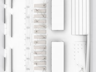 Folcara - Vista zenitale:  in stile  di Mirco Simonato - Studio di Architettura