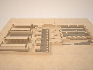 Modello -  Vista generale:  in stile  di Mirco Simonato - Studio di Architettura