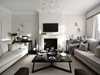Ferncroft Avenue, Hampstead Modern living room by Boscolo Modern