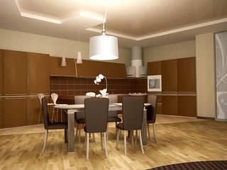 Show room г.Геленджик: Гостиная в . Автор – Yana Ikrina Design