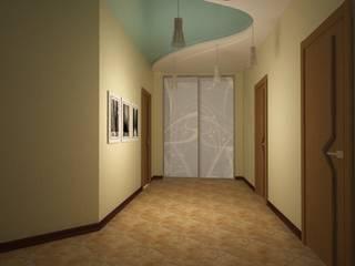Show room г.Геленджик: Коридор и прихожая в . Автор – Yana Ikrina Design