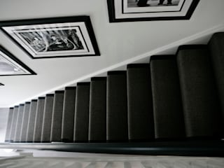Boulevard, Chigwell Modern Corridor, Hallway and Staircase by Boscolo Modern