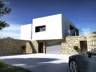 House AS Casas modernas por SPL - Arquitectos Moderno