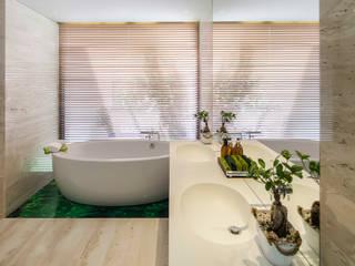 AM 2014 - Fão Casas de banho modernas por INAIN Interior Design Moderno