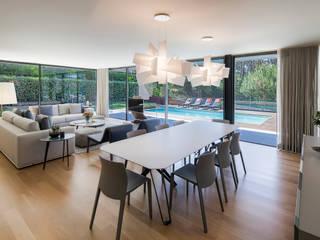 AM 2014 - Fão Salas de jantar modernas por INAIN Interior Design Moderno