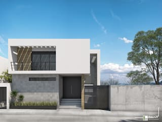 Bau-Art Taller de Arquitectura 房子 White