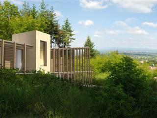 Curtille Maisons modernes par archipente Moderne