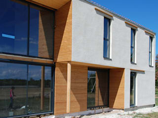 Foriats Maisons modernes par archipente Moderne