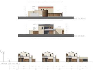 Maison des aînés par archipente Moderne