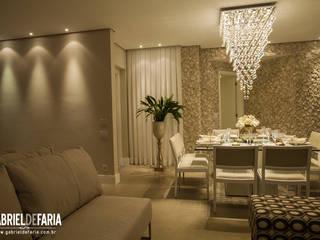 ห้องทานข้าว โดย Andréa Carvalho Arquitetos Associados, โมเดิร์น