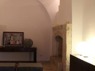 cristina mecatti interior design Mediterranean style living room