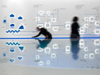 Water Museum: Museus  por P-06 ATELIER, ambientes e comunicação, Lda