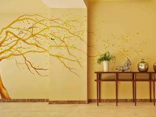 MC Design กำแพง หินอ่อน Yellow