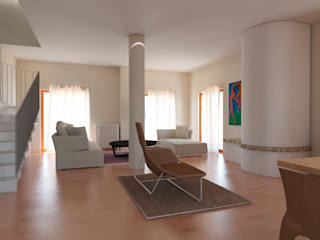 Transform our Living-room Soggiorno moderno di Arch. Cristian Sporzon Moderno