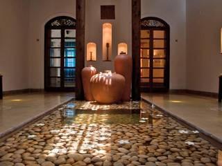 Rita Mody Joshi & Associates Koridor & Tangga Modern