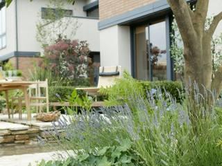 (有)ハートランド Jardines de estilo mediterráneo