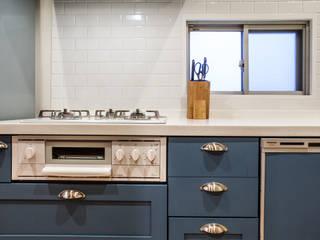 株式会社コリーナ Scandinavian style kitchen Blue
