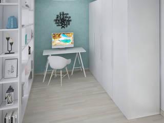 Спальня г.Новороссийск Спальня в стиле минимализм от Yana Ikrina Design Минимализм