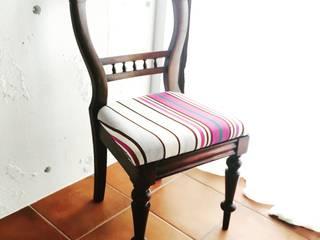 素材の良さを生かしてリノベーション: おしゃれな椅子店が手掛けたです。,