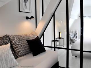 Le Coin Banquette: Bureau de style  par K Design Agency