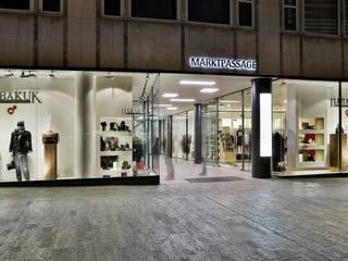 Marktpassage Würzburg Moderne Geschäftsräume & Stores von Hofmann Keicher Ring Architekten Modern