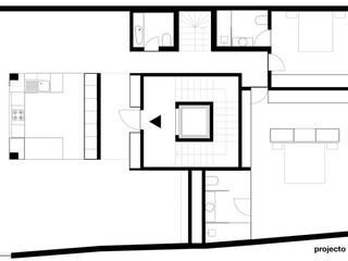 Amaral Loft Casas minimalistas por feedback-studio arquitectos Minimalista
