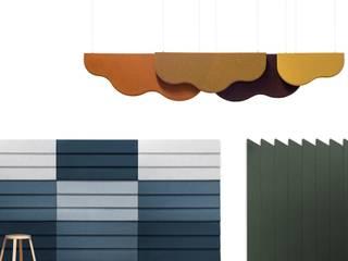 SURFACES: Bureaux de style  par Julien Renault Objects