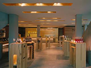 Winzerkeller Sommerach Moderne Geschäftsräume & Stores von Hofmann Keicher Ring Architekten Modern