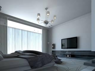 Tatiana Sukhova Industrial style bedroom