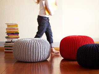 modern Living room by Knit Kit GmbH