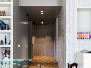 Casa NM: Sala da pranzo in stile  di Next Urban Solutions