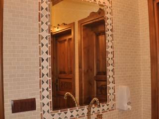 DOĞAL TAŞ SANATI NSA NATURAL MARBLE Rustik Banyo Mozaik Bej