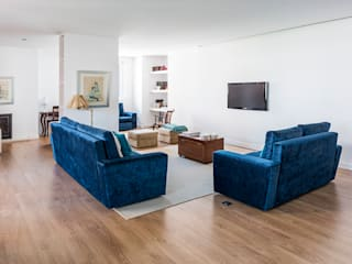 Modern Living Room by Ponto Cúbico Modern