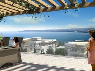 CCT INVESTMENTS – CCT 51 Project in Buyukcekmece:  tarz Teras,