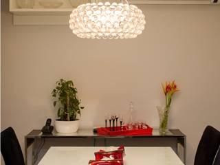 Apartamento Espinheiro: Salas de jantar  por Andressa Rangel Arquitetura e Interiores,