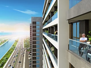 CCT INVESTMENTS – CCT 156 Project in Yenibosna:  tarz Teras,