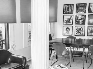 Modern Study Room and Home Office by EKIDAZU Modern