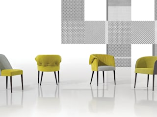 Gomo Collection:   por Fenabel-The heart of seating,Moderno