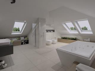 The Vibe Modern bathroom