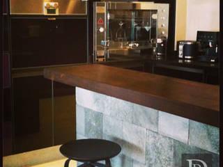 Projeto Paraíso Cozinhas modernas por Debora de Rezende   arquitetura e interiores Moderno