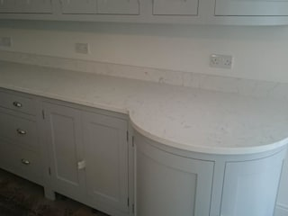Carrara Quartz by Stone Valley Work Surfaces