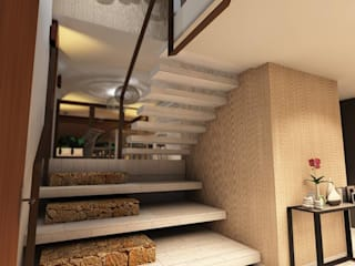 Classic style corridor, hallway and stairs by SOLIDO SLD Classic