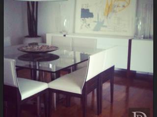 Projeto Itaim Bibi Salas de jantar modernas por Debora de Rezende   arquitetura e interiores Moderno